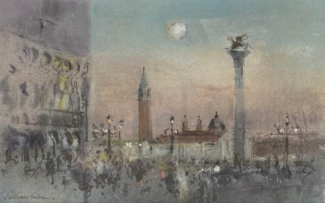 William Selwyn, Evening, the Piazzetta
