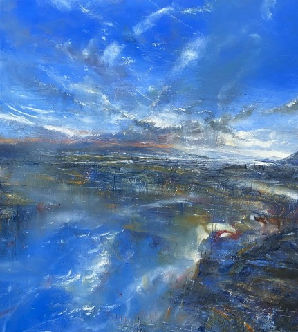 Iwan Gwyn Parry, The Causeway at High Tide