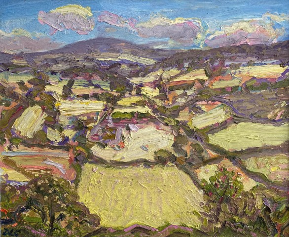 David Lloyd Griffith, Towards Betws yn Rhos - a Hot Day in May