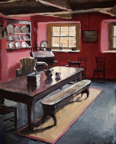 Matthew Wood, The Judge's Lodging - Servants Hall