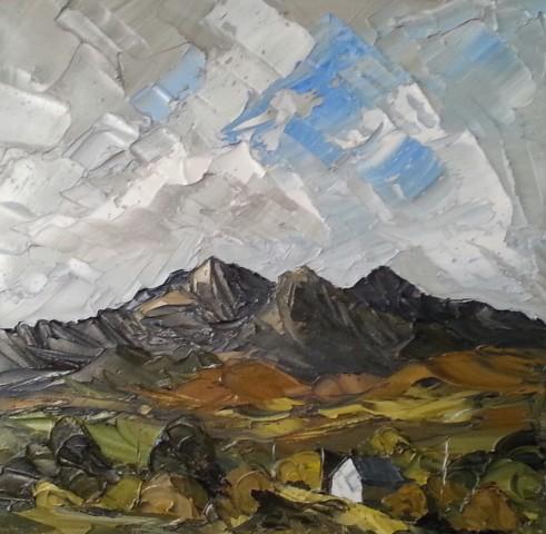 Martin Llewellyn, View of Snowdon