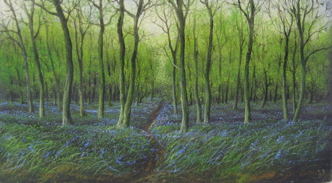 Gerald Dewsbury, Bluebells in Bigwood