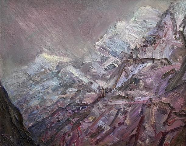 David Lloyd Griffith, Mountain Weather - Nant Peris