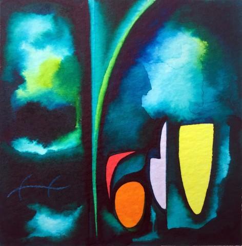 Martyn Jones, Night Garden - Scintilla V