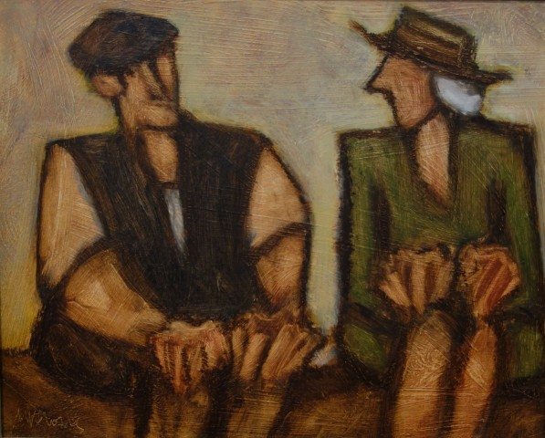 Mike Jones, Seated Couple