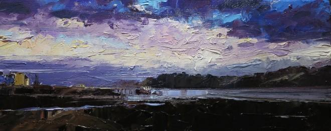 David Grosvenor, The Menai Strait at Beaumaris