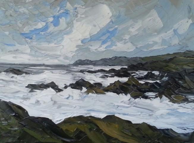 Martin Llewellyn, Rough Sea, Treaddur Bay
