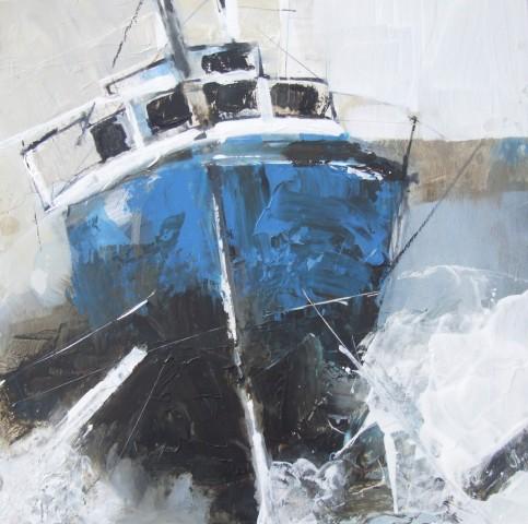 Pete Monaghan, Three Boats Blue I
