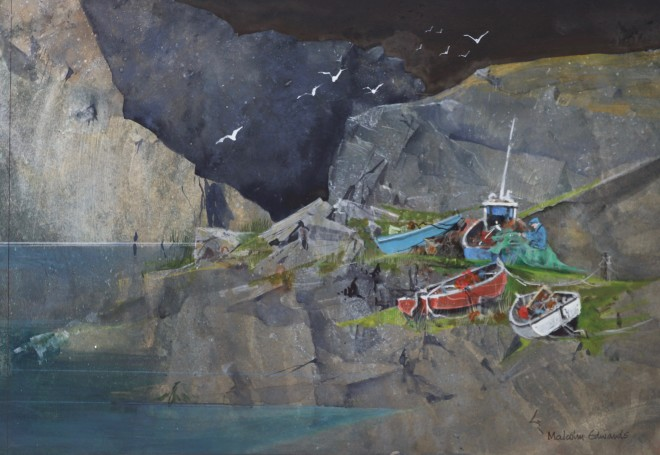 Malcolm Edwards, Sutherland Fishing Cove