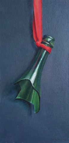 James Guy Eccleston, Bottle and Ribbon
