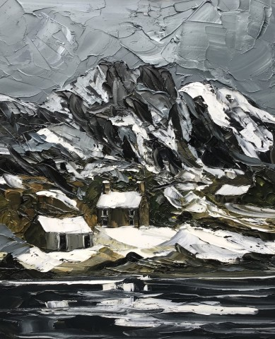 Martin Llewellyn, Winter, Llyn Crafnant