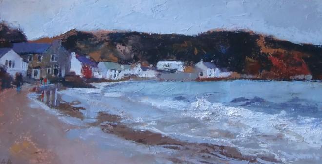 Anne Aspinall, Porthdinllaen, Rough Sea
