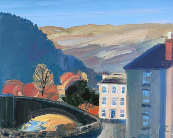 Sarah Carvell, Towards the Bridge, Llanrwst