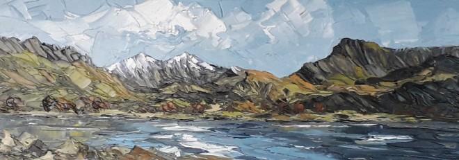 Martin Llewellyn, View across Llyn Nantlle