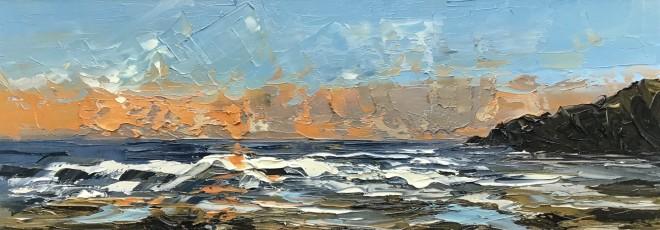 Martin Llewellyn, Sunset, White Sands Bay