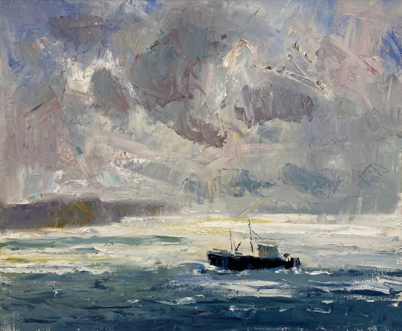 Gareth Parry, Pysgota'r Môr, Llŷn / Fishing the Sea, Llŷn