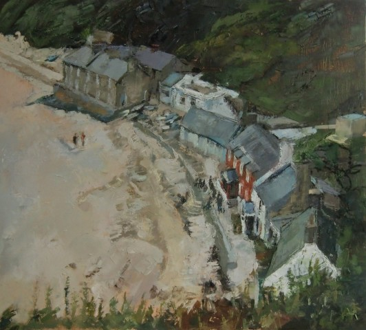 Anne Aspinall, Porthdinllaen from the Headland