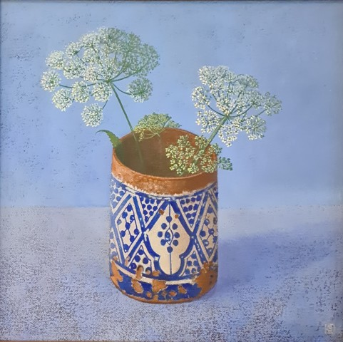 Kim Dewsbury, Moroccan Pot with Ashweed