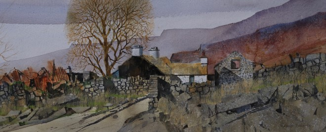 Malcolm Edwards, Tarred Gable, Caeronwy