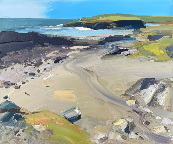 Sarah Carvell, View towards Porth Dafarch