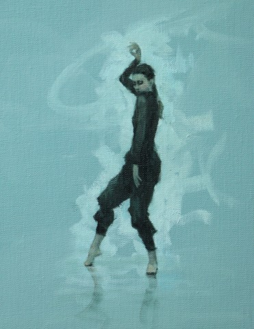 Carl Chapple, Mara Galeazzi (Ballet Cymru Rehearsal 87)