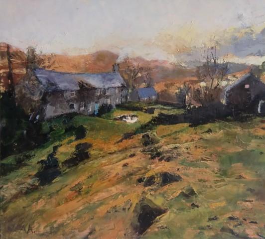 Anne Aspinall, Plas Llandecwyn, November`