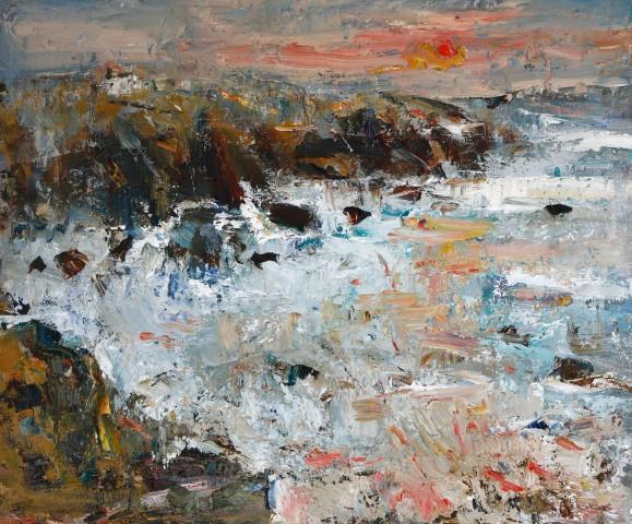 Gareth Parry, Ar ôl Ddrycin, Pen Llŷn / After the Storm, Llyn Peninsula
