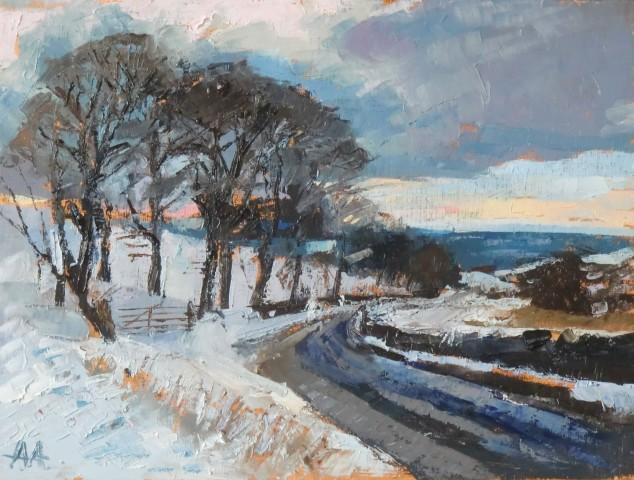Anne Aspinall, February Snow II