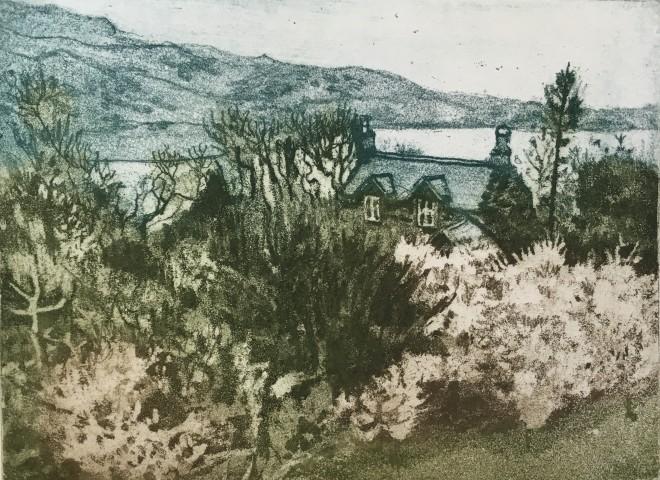 Anne Aspinall, Blackthorn - Spring on the Mawddach