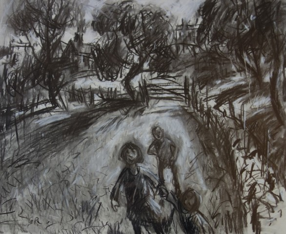 Gareth Parry, Tu Allan i'r Pentref I / Outside the Village I