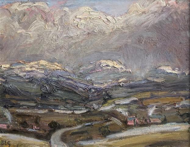 David Lloyd Griffith, Snow Showers - Hafod Dynbych (Near Pentrefoelas)