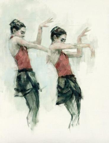Carl Chapple, Danilla Marzilli (Ballet Cymru Rehearsal 162)