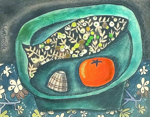 Susan Gathercole, Still Life with Liberty Print Fish