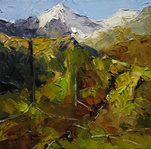 David Grosvenor, Snowdon, Winter