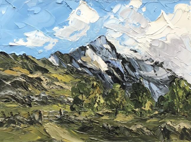 Martin Llewellyn, Spring Snow, Cnicht