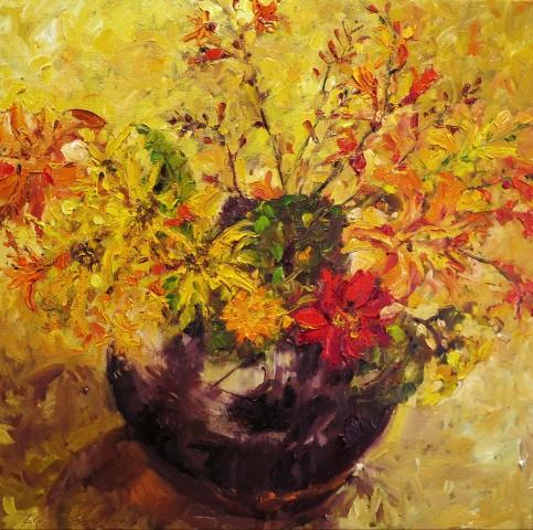 David Grosvenor, Mixed Garden Flowers II