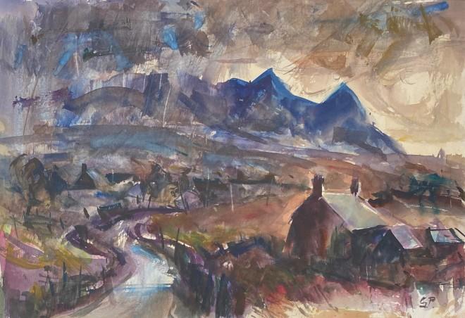 Gareth Parry, Yr Eifl, Tywydd yn Gwella / The Eifl, Weather Improving