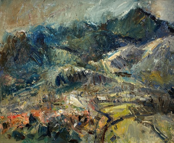 Gareth Parry, Gwlad Arw, Nant Peris - Inhospitable Land, Nant Peris