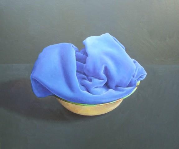 James Guy Eccleston, Blue Velvet and Basin