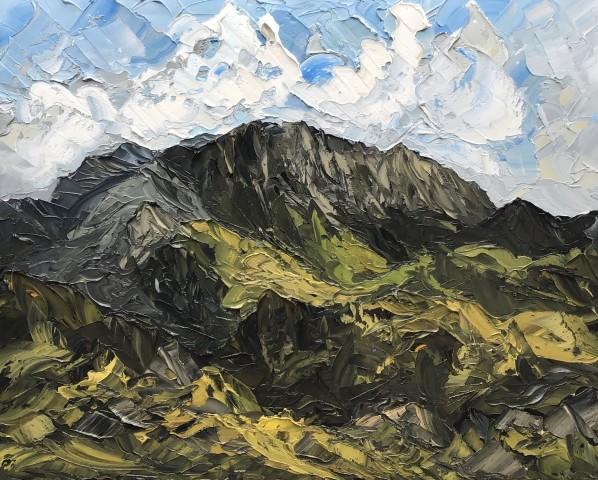 Martin Llewellyn, Towards Snowdon