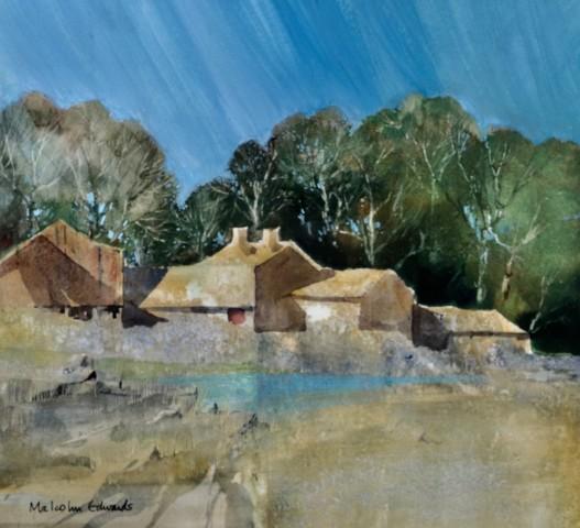 Malcolm Edwards, Farm near Fishguard