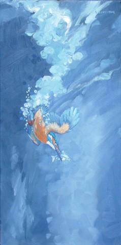Colin See-Paynton, Kingfisher Fishing II
