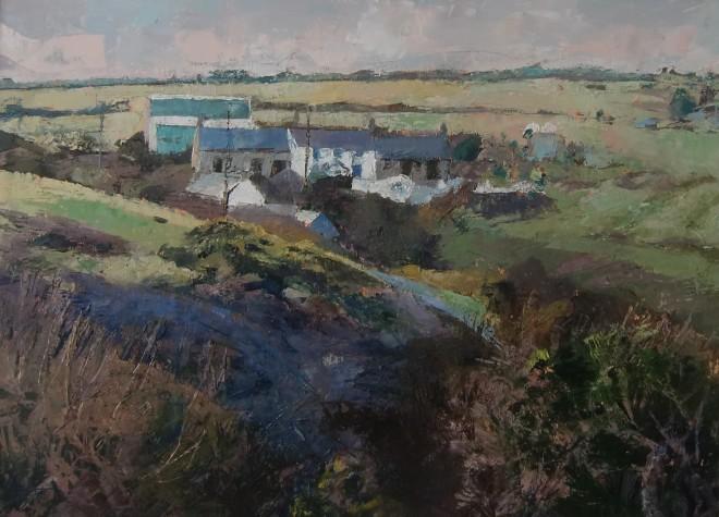 Anne Aspinall, Farm at Trefin