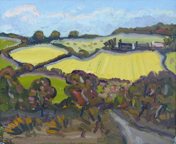 David Lloyd Griffith, Barley Fields near Abergele