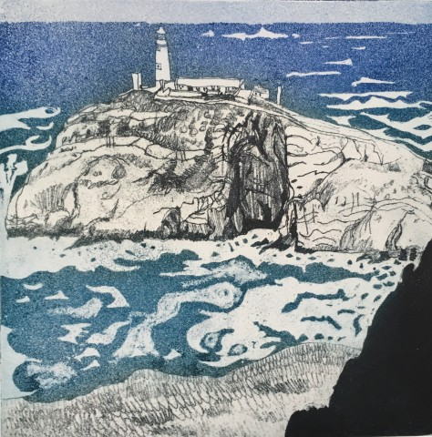 Anne Aspinall, Southstack Lighthouse