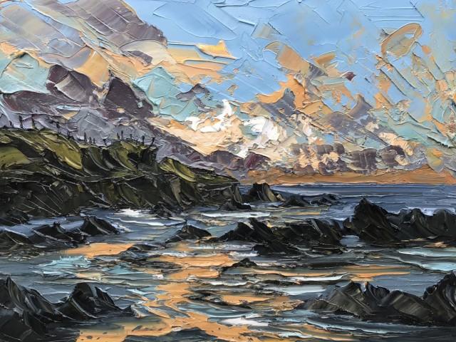 Martin Llewellyn, Evening Sunset, Aberffraw