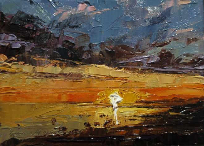 David Grosvenor, Sunset, Criccieth I