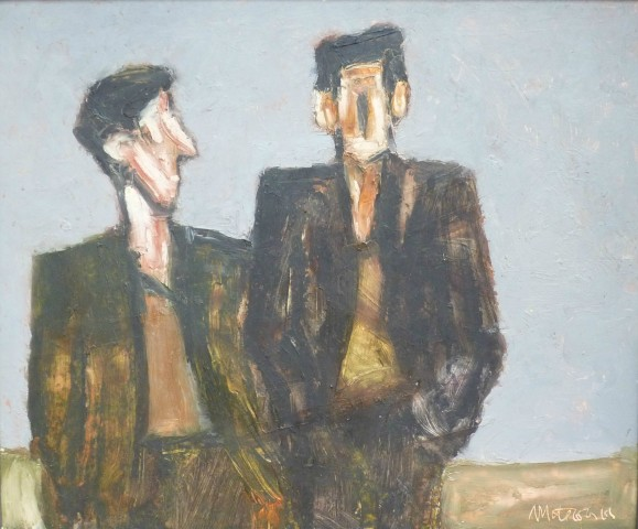 Mike Jones, Figures in Landscape