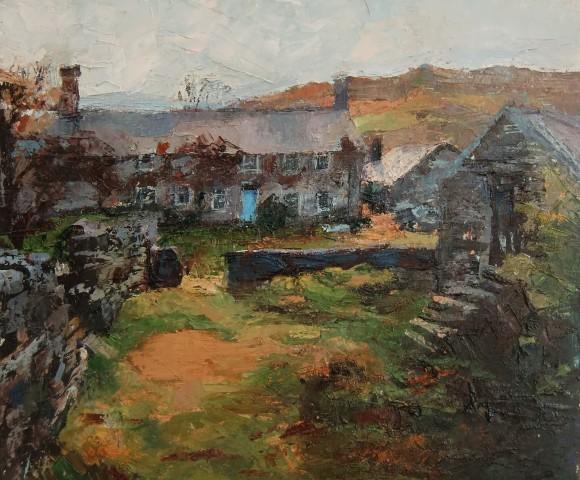 Anne Aspinall, Blue Door, Plas Llandecwyn
