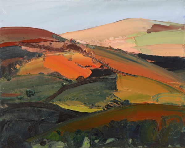 Sarah Carvell, Peach Coloured Hill